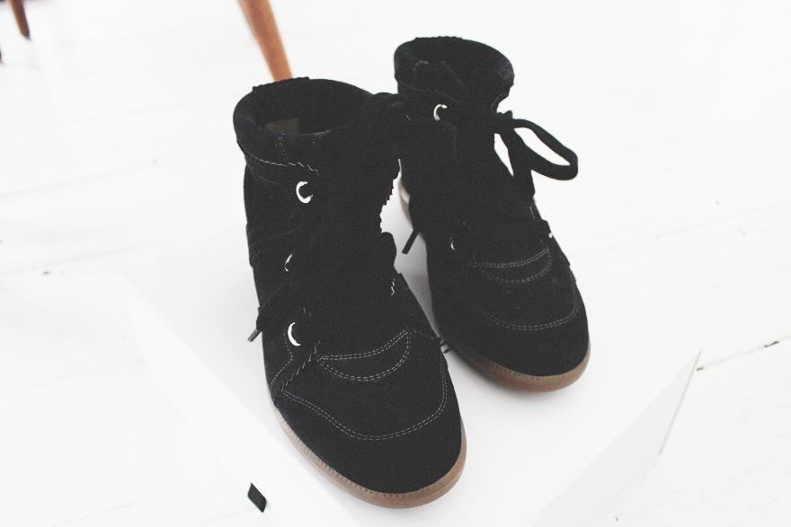 isabel marant kopi flade sko